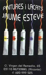 JAUME ESTEVE